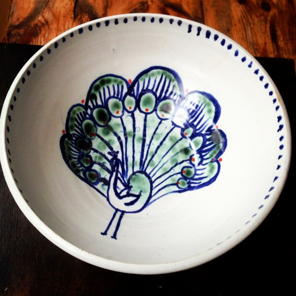mr peacock bowl