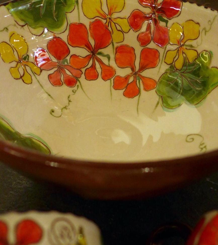 nasturtium bowl 1