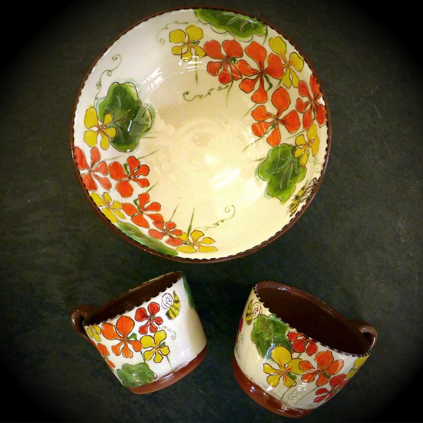 nasturtium bowl 2