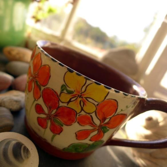 nasturtium mug 1
