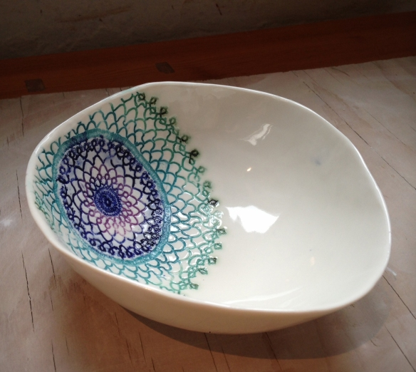 new doily bowl