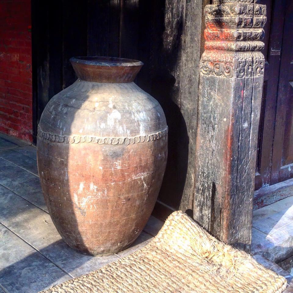 Bhaktapur ancient pot