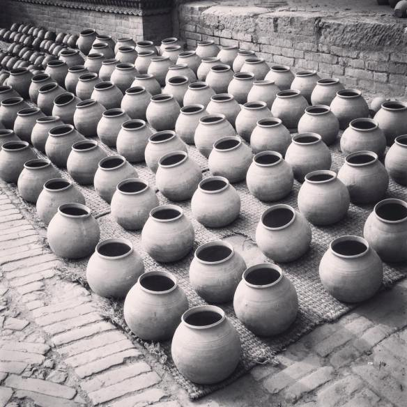 drying in potters square